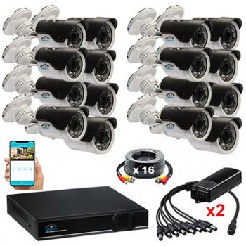 Комплект видеонаблюдения UL16-2