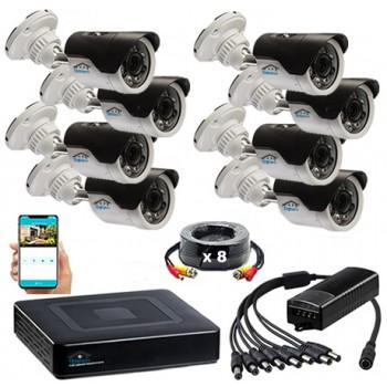Комплект видеонаблюдения UL8-2