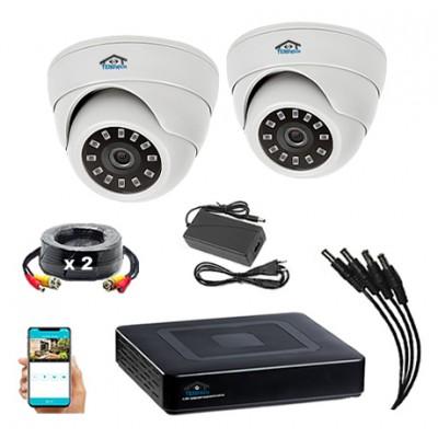 Комплект видеонаблюдения VN2-2