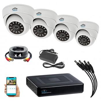 Комплект видеонаблюдения VN4-2