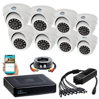 Комплект видеонаблюдения VN8-2