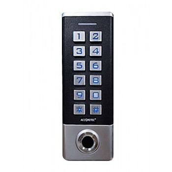 AT-FR100EM кодонаборная панель с биометрическим считывателем