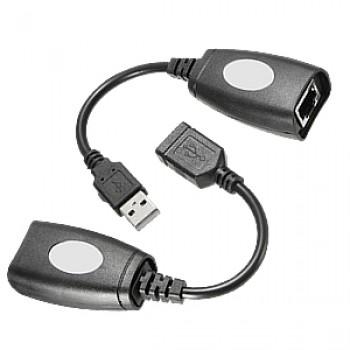 Удлинитель USB/RJ-45 по витой паре